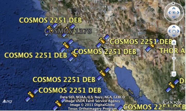 JamulBlog: Realtime Satellite Data on Google Earth