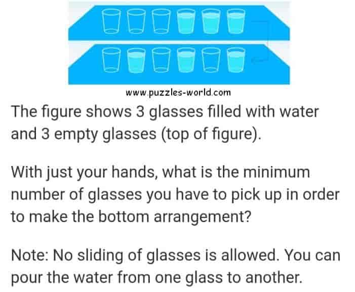 6 Glasses Puzzle