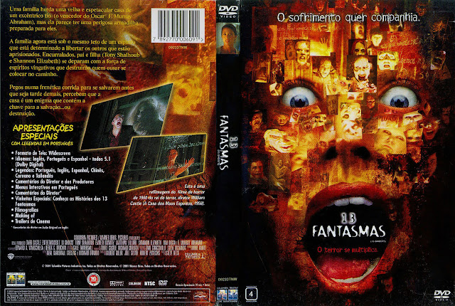 Capa DVD 13 FANTASMAS