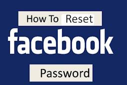 Reset Code for Facebook Password
