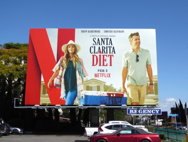 Santa Clarita Diet season 1 billboard