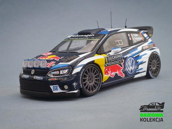 IXO RAM621 - Volkswagen Polo R WRC, Winner Rallye Monte-Carlo 2016