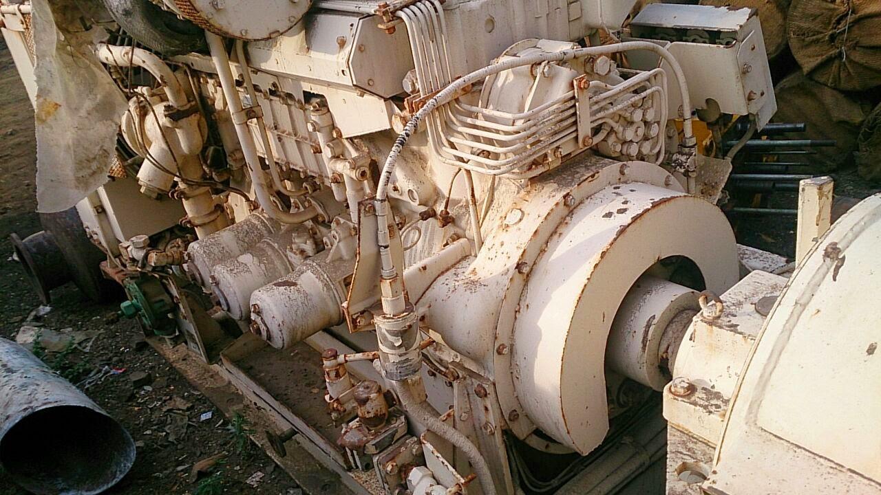 Mitsubishi Generator for sale, Mitsubishi S6B auxiliary engine for sale
