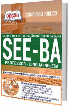 Apostila SEE-BA 2018 Professor de Língua Inglesa