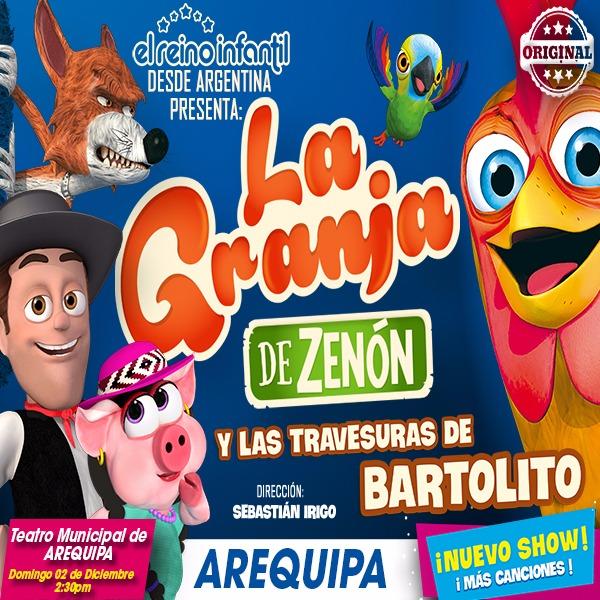 La granja de Zenón y las travesuras de Bartolito en Arequipa - 02 diciembre