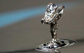 "The ""Spirit of Ecstasy"" Rolls Royce car bonnet ornament"