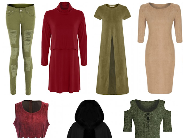Wishlist | Autumnal Colours ft. Mary Jane Fashion