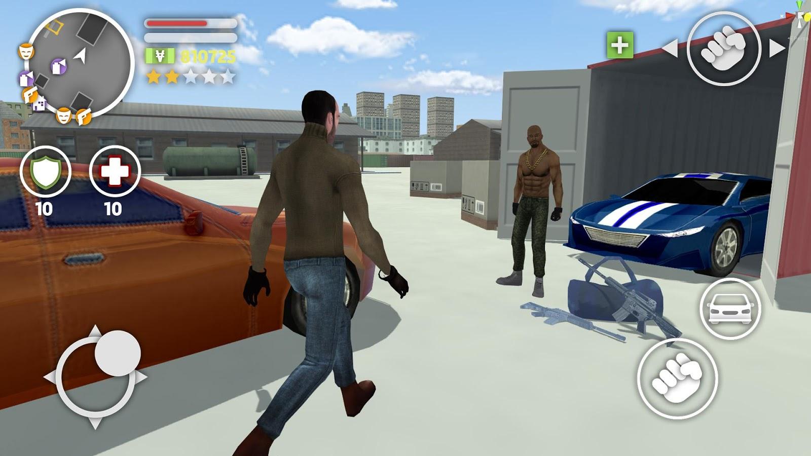 The Gang Auto MOD APK terbaru