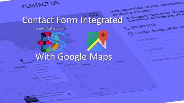 Contact Form With Map