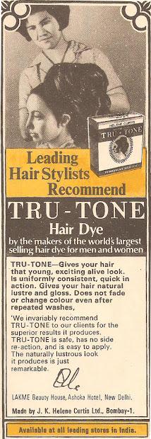 tru-tone hair dye vintage