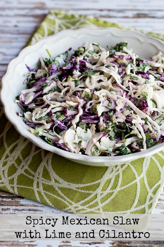 Kalyn's Top Ten Low-Carb Recipes with Cabbage found on KalynsKitchen.com