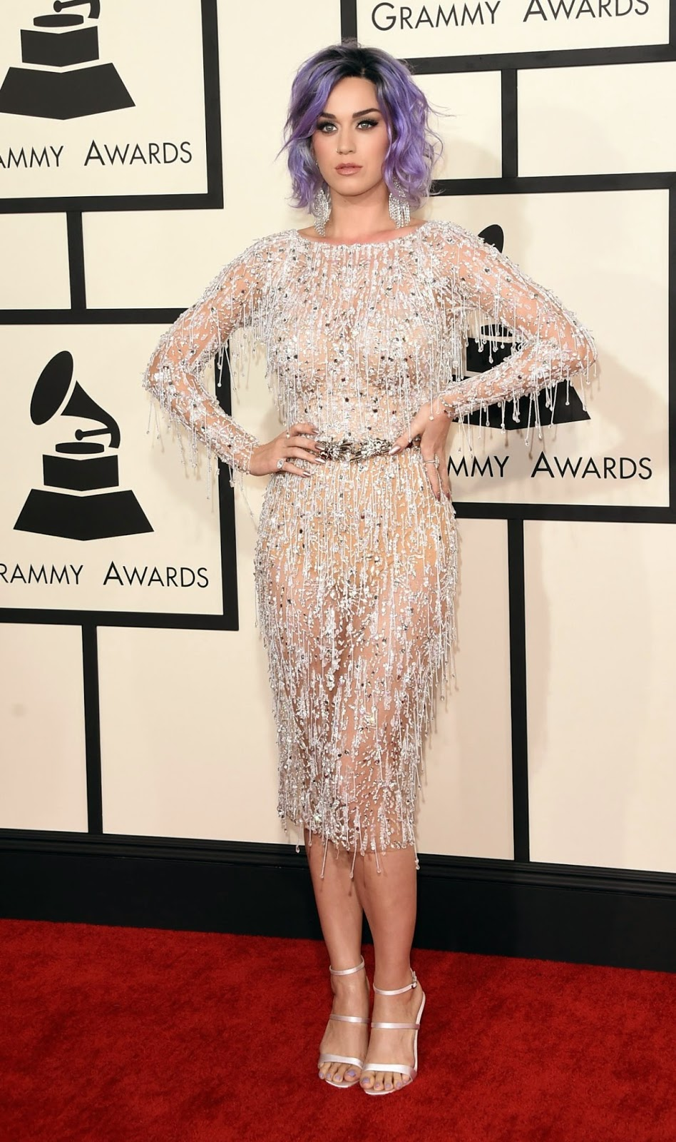 Katy Perry – 2015 Grammy Awards Red Carpet Dress – Red Carpet