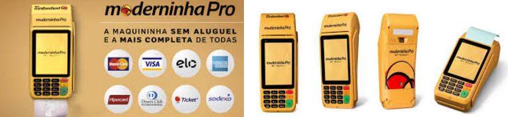 Máquina de Cartão de Crédito Moderninha Pagseguro