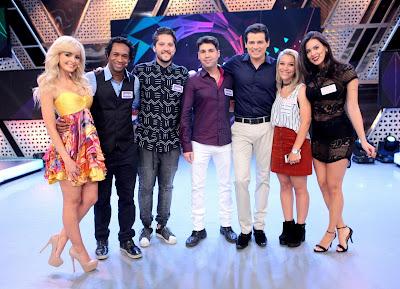 Jhenny, Carlos, André, Vinicius, Celso, Priscilla e Camila - Crédito: Lourival Ribeiro/SBT