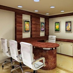 Director S Office Cabin Design Olive Garden Interior