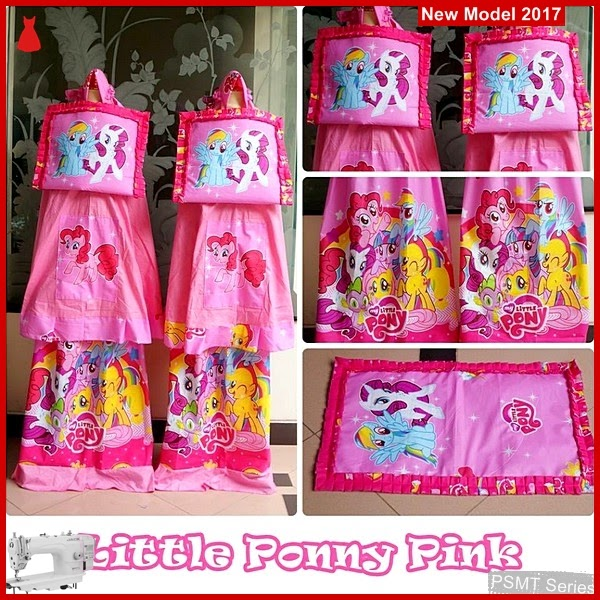 PSMT042A Mukena Anak Karakter Ponny Pink Uk S