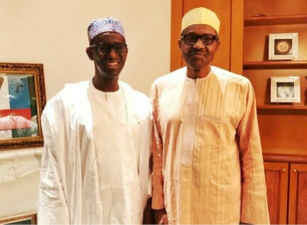 President Buhari Receives Nuhu Ribadu In Aso Rock