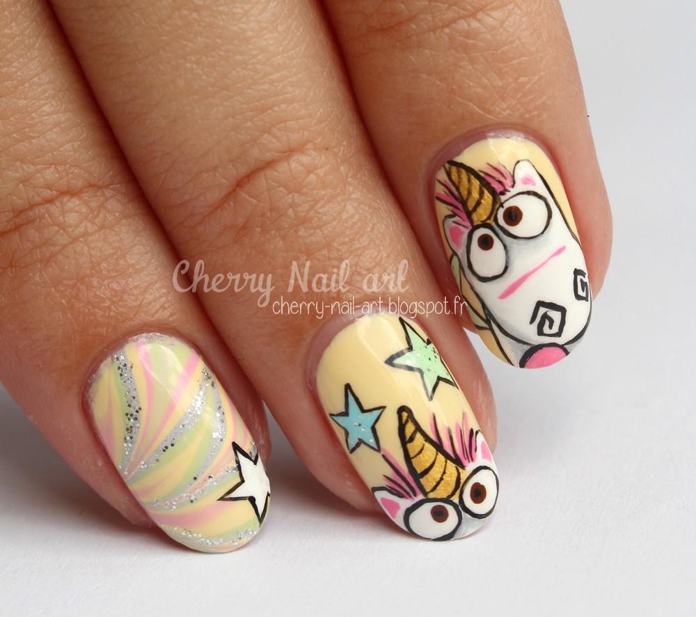 Blog Mode Beauté: Nail Art Licorne Moi