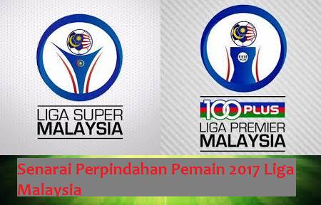 Perpindahan Pemain 2017 Liga Malaysia
