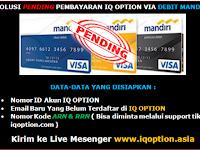 Solusi Pending Withdraw Via Debit Mandiri