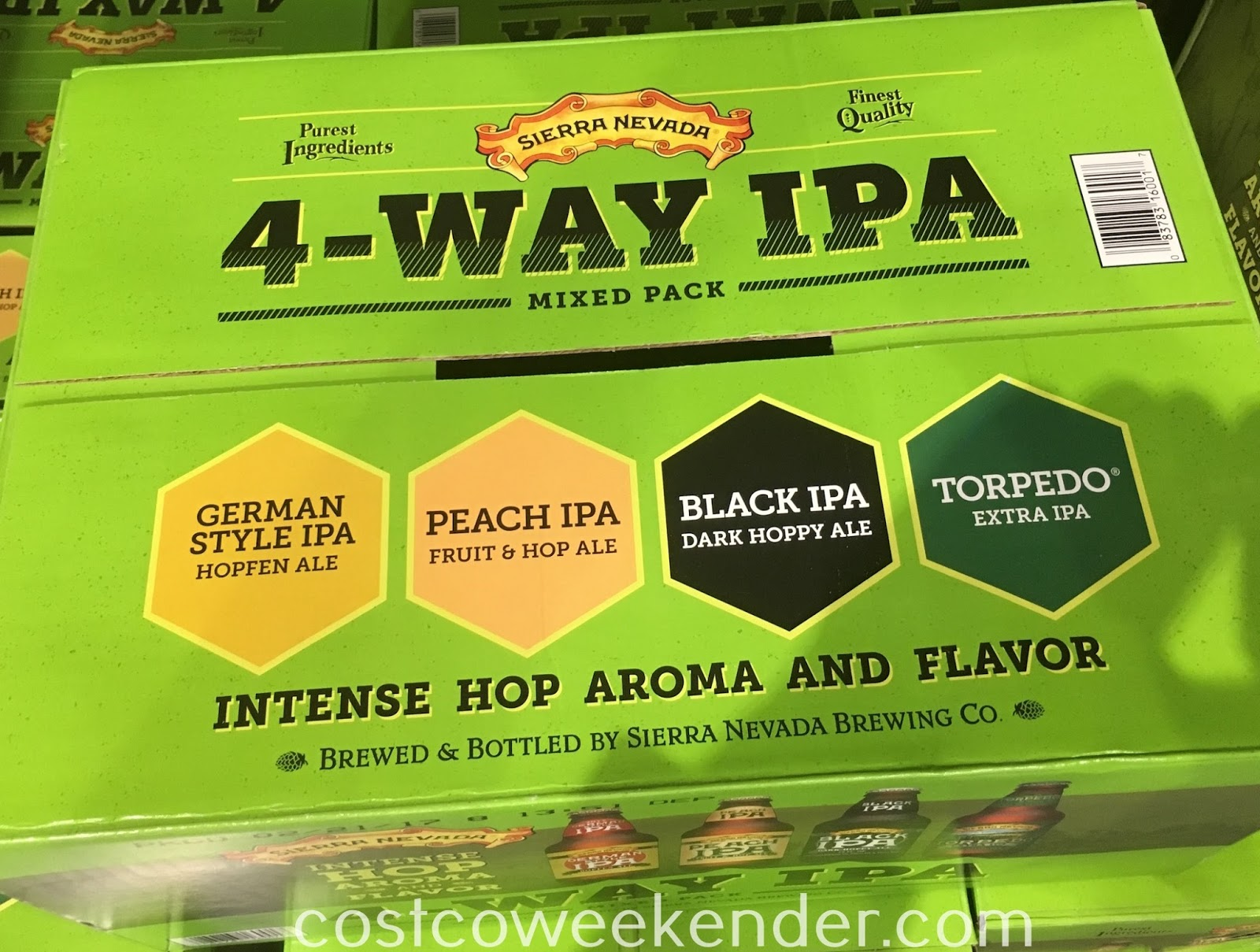 Costco 857071 - Sierra Nevada 4-way IPA Mixed Pack - For special occassions or just when you feel like having a cold one