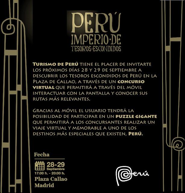 Tesoros de Perú en la Plaza de Callao