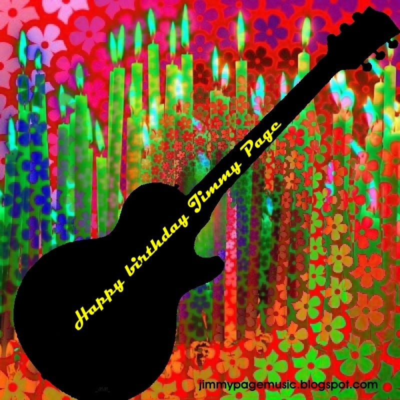 MAGE MUSIC: Happy Birthday Jimmy Page