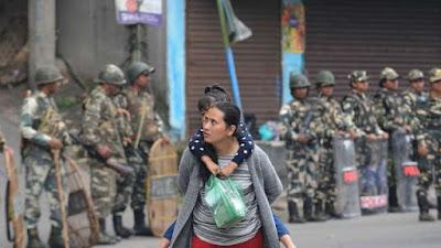 Darjeeling Gorkhaland Agitation