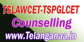 TS Telangana TSLAWCET-TSPGLCET 2017 Counselling