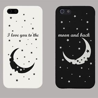 custom case gambar bulan
