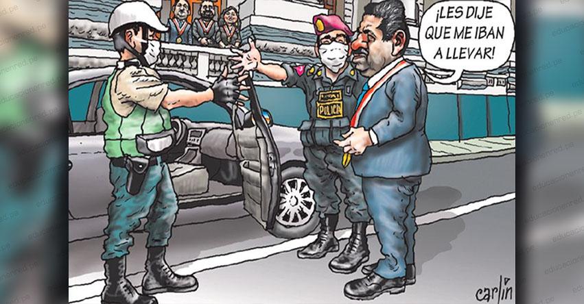 Carlincaturas Viernes 27 Marzo 2020 - La República