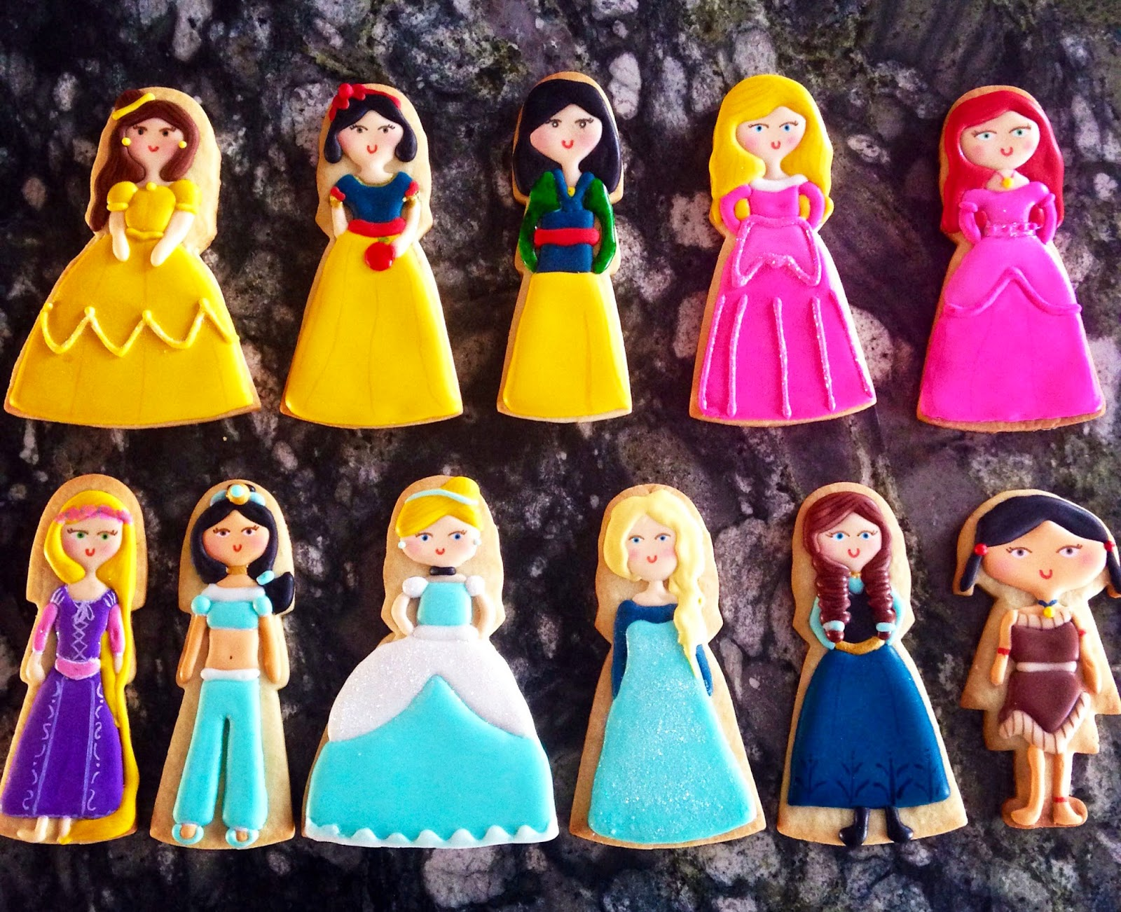 Galletas Decoradas De Princesas Cakelicioso Galletas Decoradas Princesas Disney