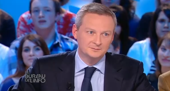 Bruno Le Maire Grand Journal