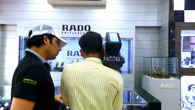 Actor Rajan Verma turns an AD Guru with RADO Watches http://www.softstills.com/