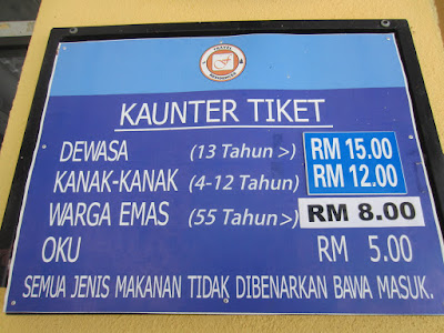 Image result for harga tiket hot spring sungkai 2016