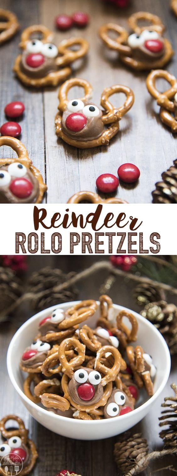Rolo Pretzel Reindeer