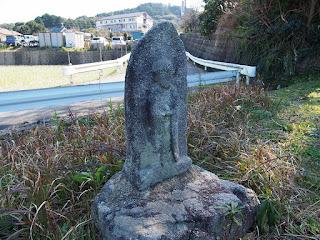 徳永・上谷池近くの地蔵尊