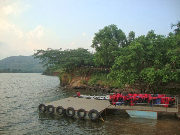 Resort near pavana dam