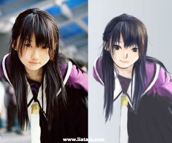 dunia anime vs dunia nyata | liataja.com
