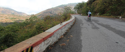 Cycling experience in Nandi Hills