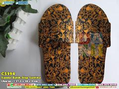 Sandal Batik Slop Santika