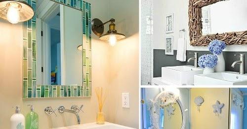 Nautical Bathroom Mirrors: Decorative Bathroom Mirrors Coastal & Nautical Style