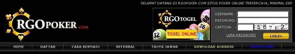 RGO POKER - Daftar rgopoker.com | Raja Situs Poker