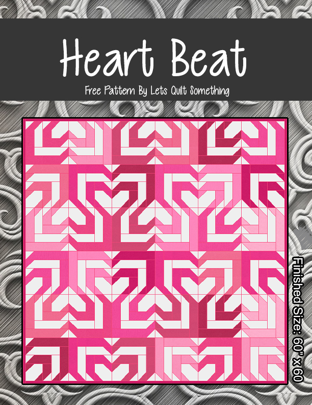 Lets Quilt Something: Heartbeat - Free Quilt Pattern - Jelly Roll : heartbeat quilts - Adamdwight.com