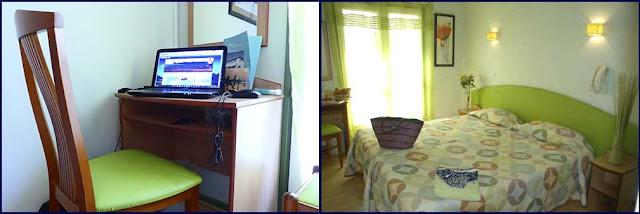 La habitación desde la que Gran Uribe ha seguido conectado con los lectores