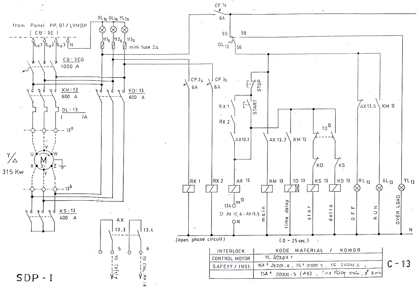 wiring diagram motor bolak balik 3 phase