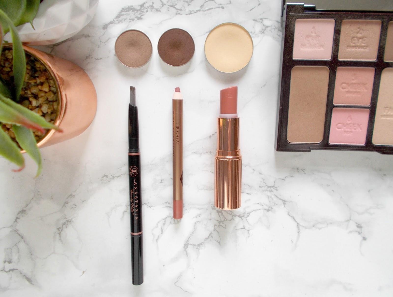 panning makeup