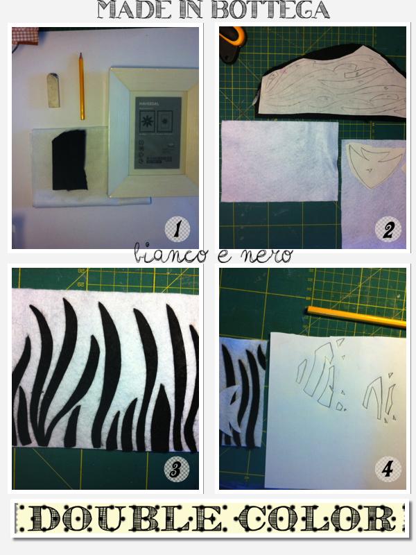 come realizzare un quadro con il feltro
