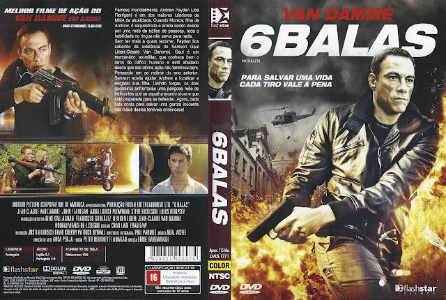 Capa DVD 6 BALAS