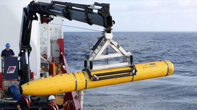 China se apodera de sonda submarina de EEUU en aguas en disputa